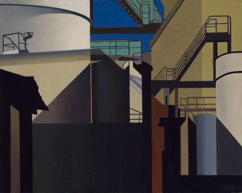 charles-sheeler-industrial