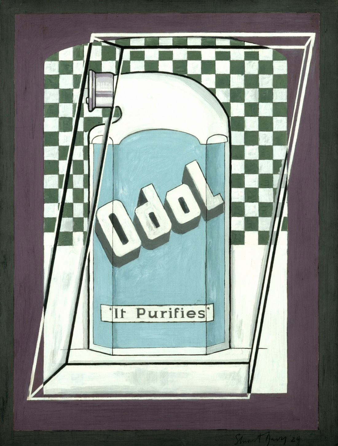 --Odol (c) The estate of Stuart Davis -DACS, London - VAGA, New York 2017