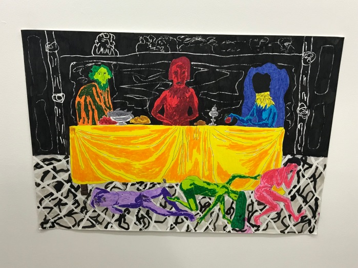 DOMINIC DISPIRITO'S 'WHO'S NOT WELCOME AT THE DINNER TABLE' (2018)