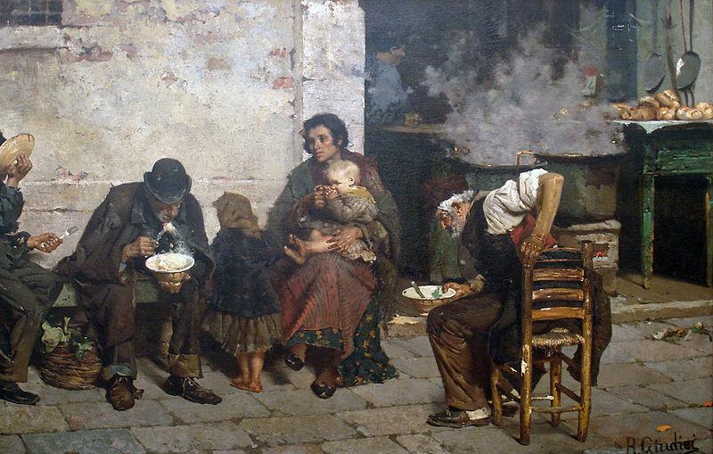Giudici_Reynaldo_-_La_sopa_de_los_pobres_(Venecia)